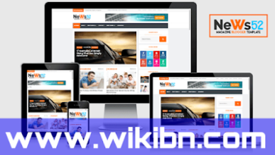 News52 এর প্রিমিয়াম ব্লগার টেমপ্লেট, news52 premium blogger template