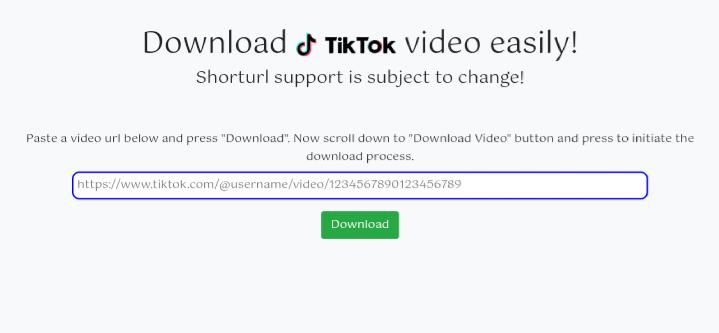 TikTok Video Downloader Php Script