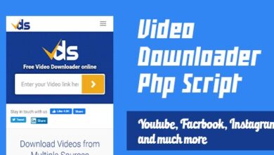 Video Downloader Php Script