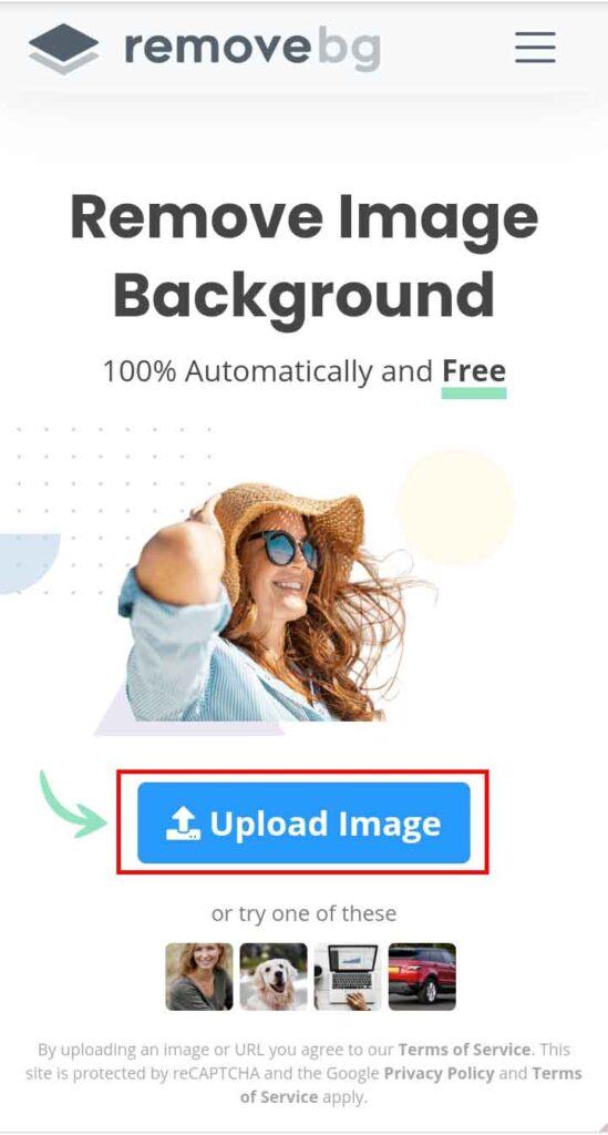 remove.bg background remove, ইমেইজ আপলোড, ব্যাকগ্রাউন্ড রিমুভ